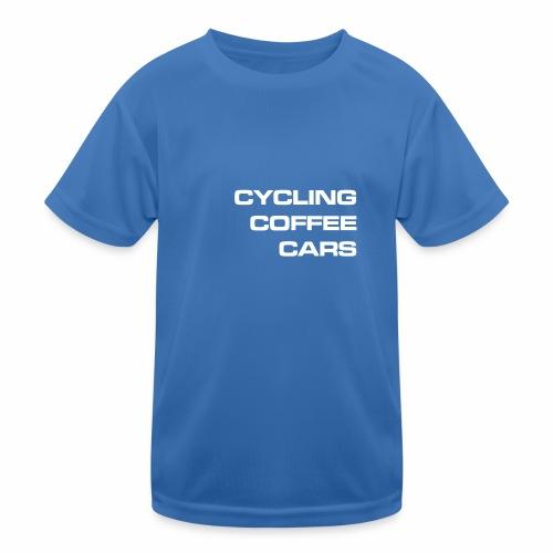 Cycling Cars & Coffee - Kids Functional T-Shirt