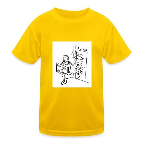 prof da guardia - Maglietta sportiva per bambini