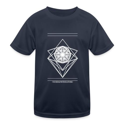 VISION [WHITE] - Functioneel T-shirt voor kinderen