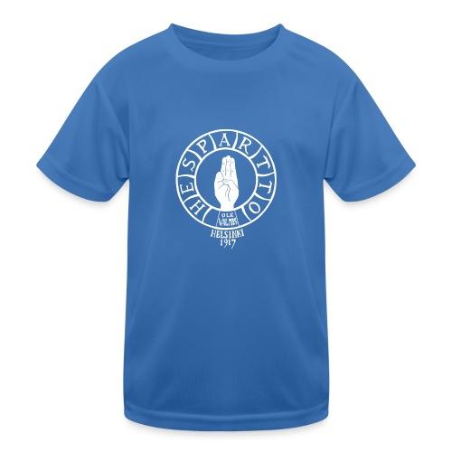 luomu t-paita ja kangaskassi - Lasten tekninen t-paita