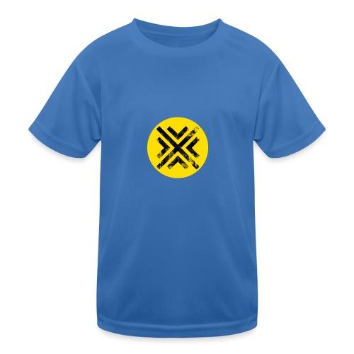 Símbolo Central - Camiseta funcional para niños