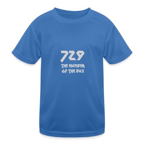 729 grande grigio - Maglietta sportiva per bambini