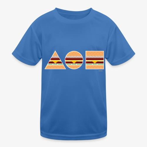Graphic Burgers - Maglietta sportiva per bambini