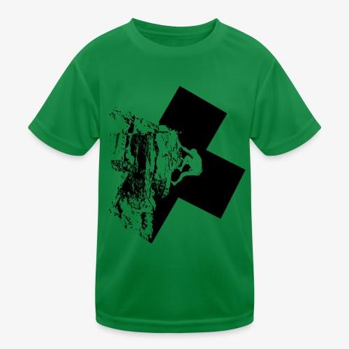 Rock climbing - Kids Functional T-Shirt