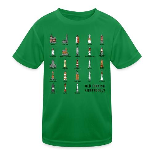 SUOMEN MAJAKKA Paidat, tekstiilit ja lahjatuotteet - Lasten tekninen t-paita