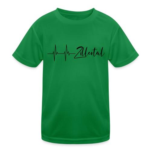 Herzschlag Zillertal - Kinder Funktions-T-Shirt