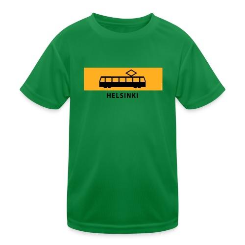 RATIKKA PYSÄKKI HELSINKI T-paidat ja lahjatuotteet - Lasten tekninen t-paita