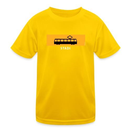 STADIN RATIKKA PYSÄKKI KYLTTI T-paidat ja lahjat - Lasten tekninen t-paita