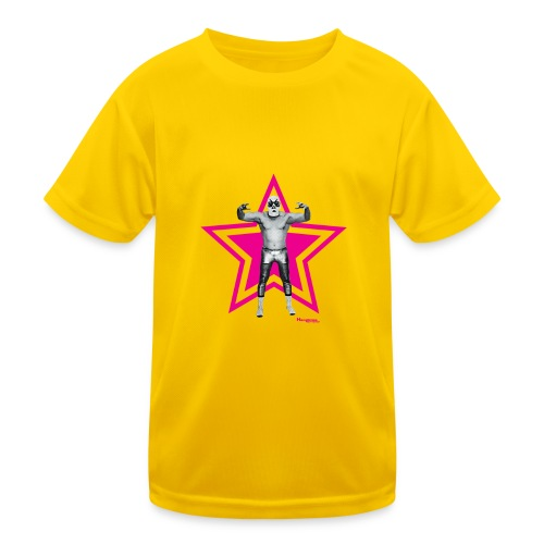 Hazy Logo - Kinder Funktions-T-Shirt