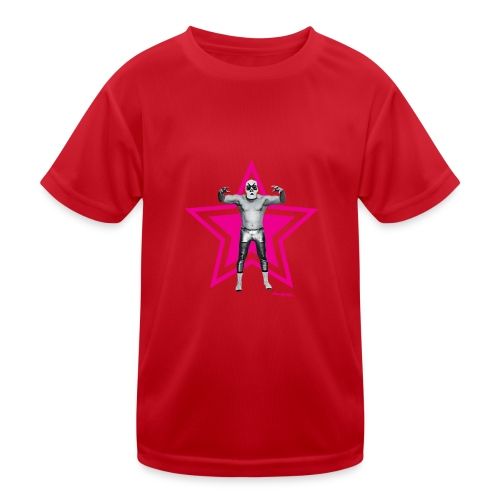 Hazy Logo - Kinder Funktions-T-Shirt