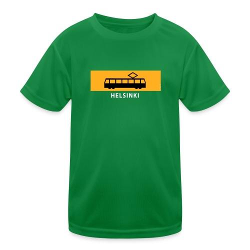 RATIKKA PYSÄKKI HELSINKI t-paidat ja tekstiilit - Lasten tekninen t-paita
