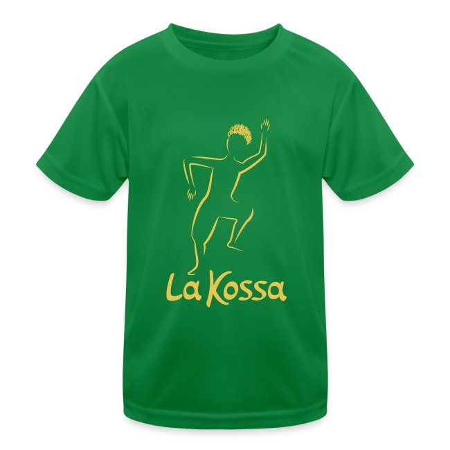 La Kossa Afro Dance Fitness Logo Gold 1