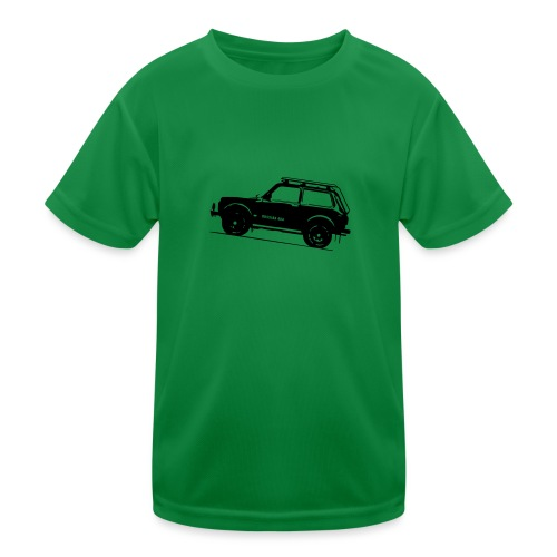 Lada Niva 2121 Russin 4x4 - Kinder Funktions-T-Shirt