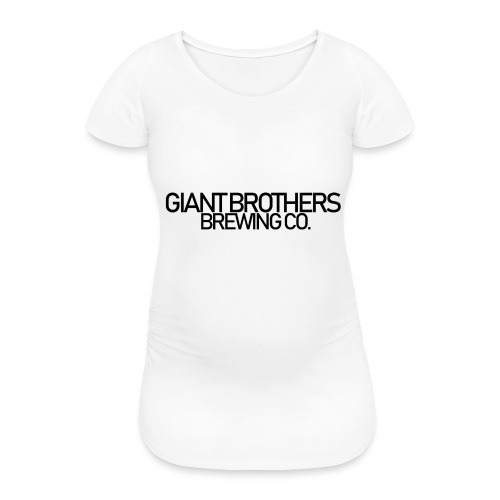 Giant Brothers Brewing co SVART - Gravid-T-shirt dam