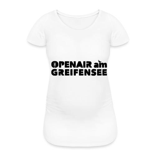 Openair am Greifensee 2018 - Frauen Schwangerschafts-T-Shirt