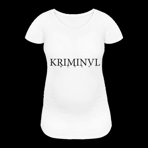 KRIMINVL'MERCH - Frauen Schwangerschafts-T-Shirt