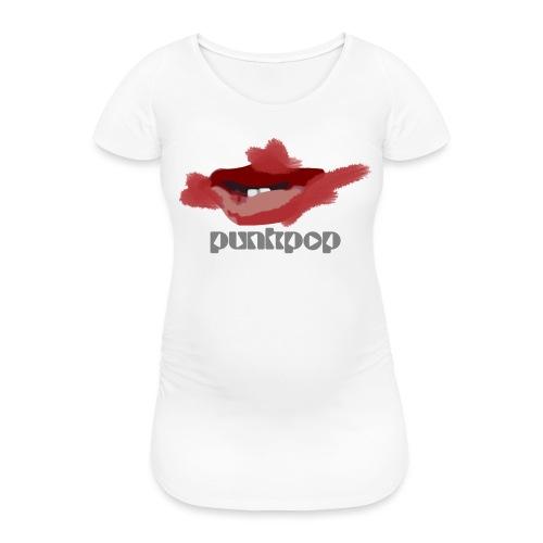 Cure Lips PunkPop - Maglietta gravidanza da donna