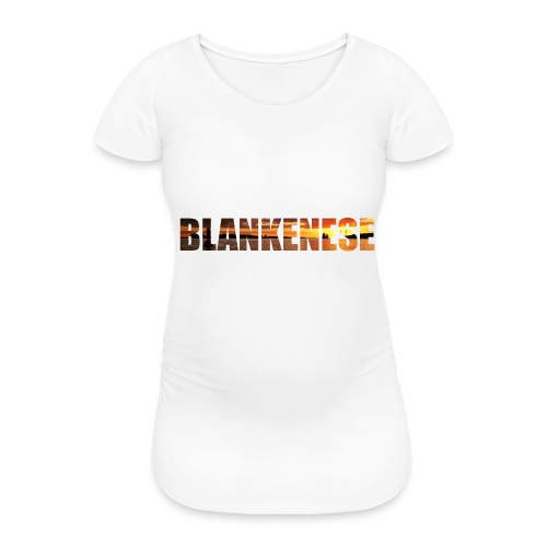 Blankenese Hamburg - Frauen Schwangerschafts-T-Shirt