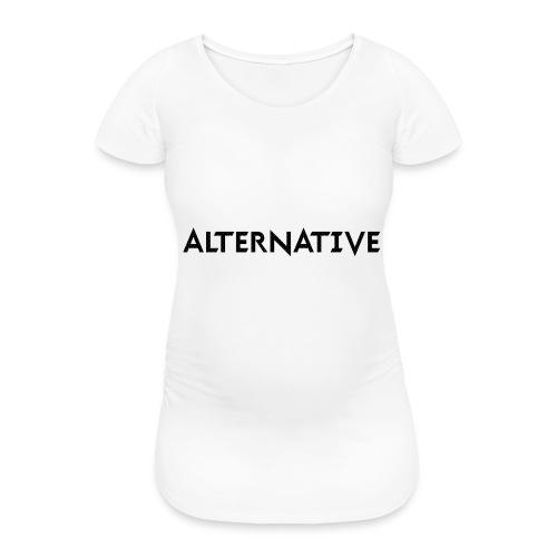 Im Hoodie White - Koszulka ciążowa