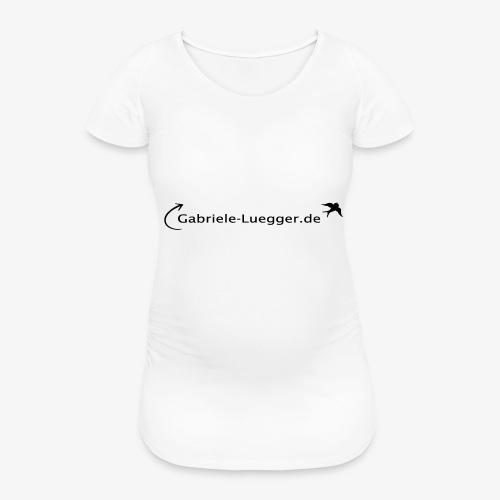 Gabriele Luegger Logo - Frauen Schwangerschafts-T-Shirt