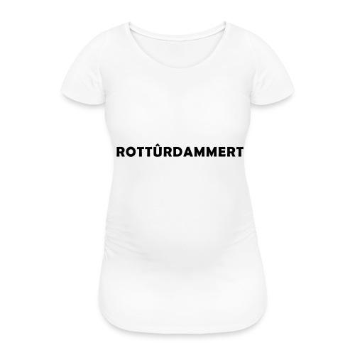 Rotturdammert - Vrouwen zwangerschap-T-shirt