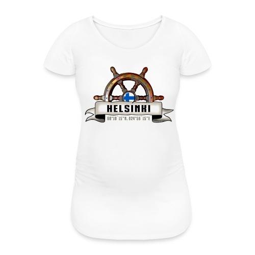 Helsinki Ruori - Merelliset tekstiilit ja lahjat - Naisten äitiys-t-paita