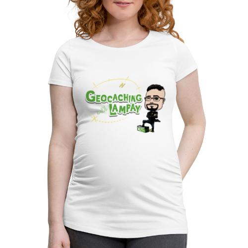 Geocaching With Lampay - T-shirt de grossesse Femme