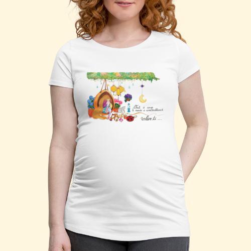 Tout à coup, le temps a considérablement ralenti - T-shirt de grossesse Femme