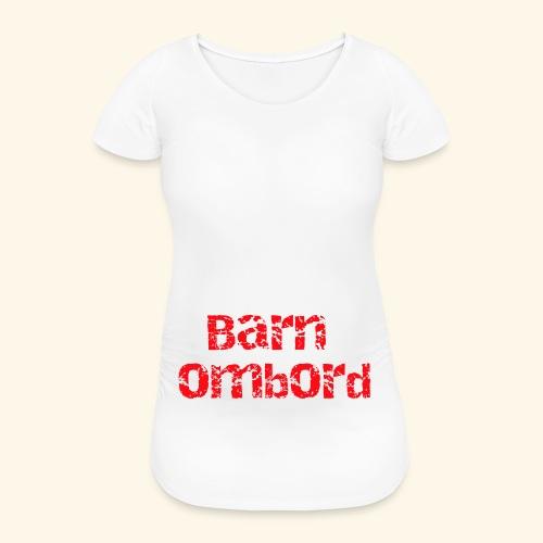 barnombord - Gravid-T-shirt dam
