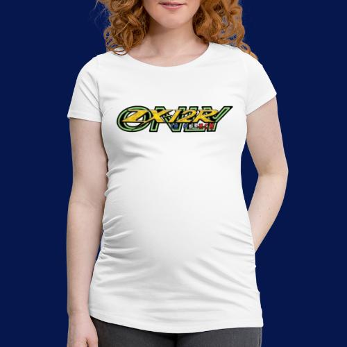New Logo ZX-12R in French Only - T-shirt de grossesse Femme