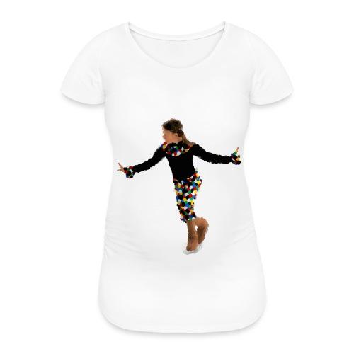Harlekin - Frauen Schwangerschafts-T-Shirt