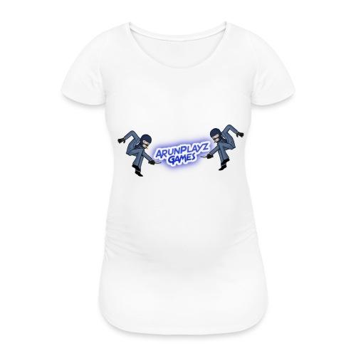 ArunPlayzGames Banner - Women's Pregnancy T-Shirt