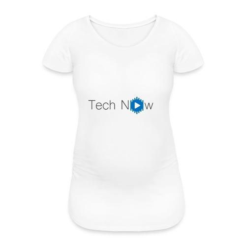 TechNow official logo - Frauen Schwangerschafts-T-Shirt