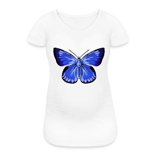 vlinder2_d - Vrouwen zwangerschap-T-shirt