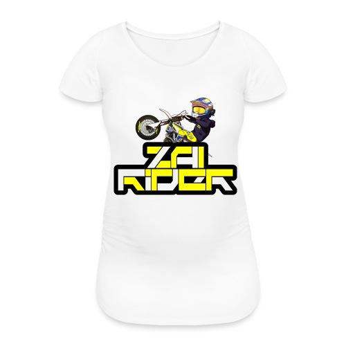 LOGO ZAI RIDER - T-shirt de grossesse Femme