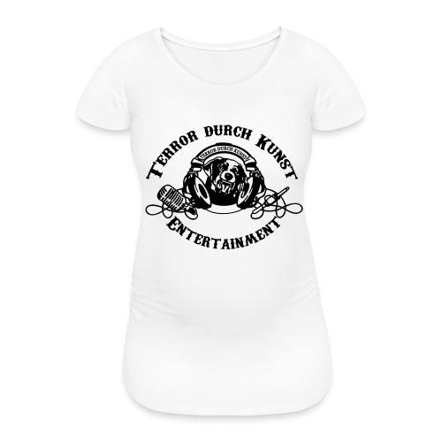 tdklogoschwarz 3 - Frauen Schwangerschafts-T-Shirt