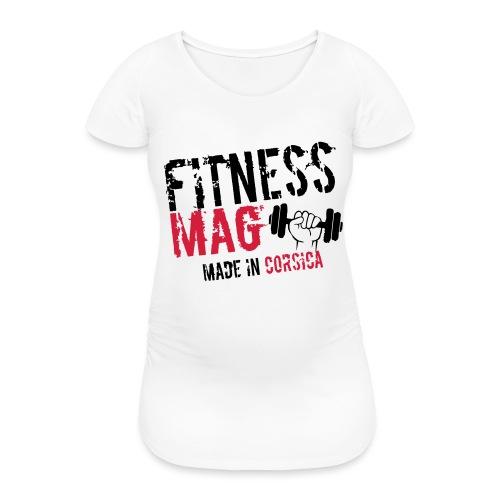 Fitness Mag made in corsica 100% Polyester - T-shirt de grossesse Femme