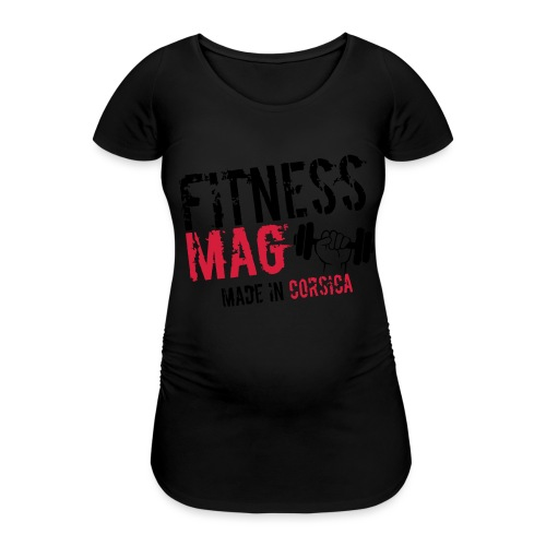 Fitness Mag made in corsica 100% Polyester - T-shirt de grossesse Femme