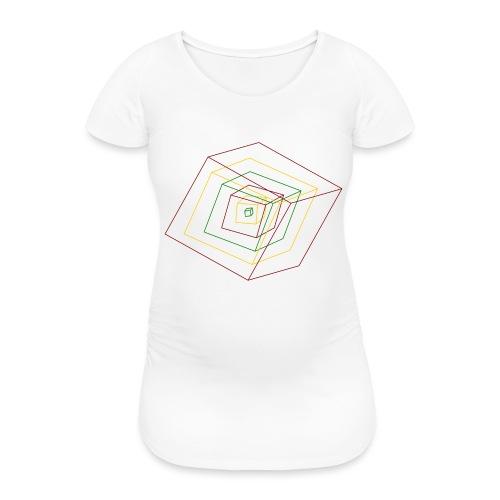 Rasta Cubes - T-shirt de grossesse Femme
