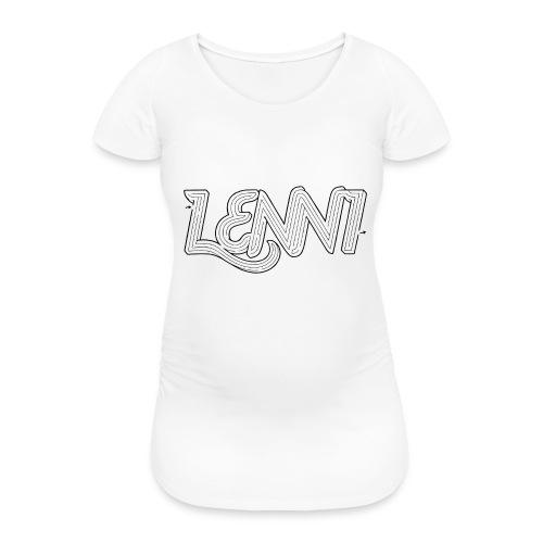 Lenni transparent - Naisten äitiys-t-paita