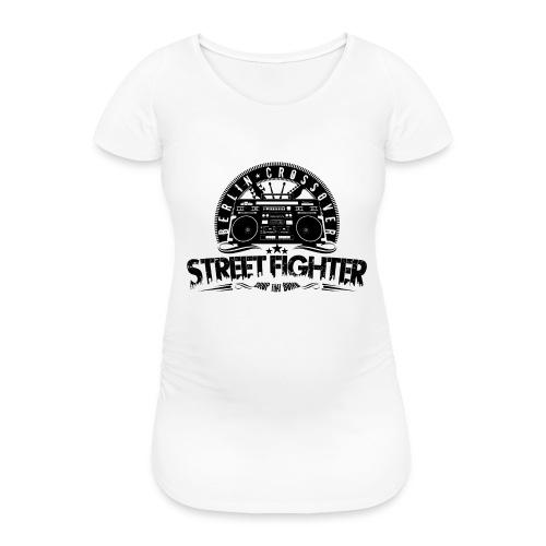 Streetfighter - Bandlogo (Black) - Women's Pregnancy T-Shirt