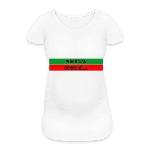 Moroccan Bombshell - Frauen Schwangerschafts-T-Shirt
