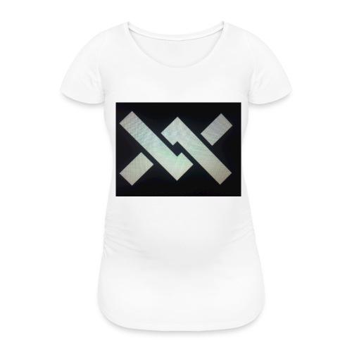 Original Movement Mens black t-shirt - Women's Pregnancy T-Shirt