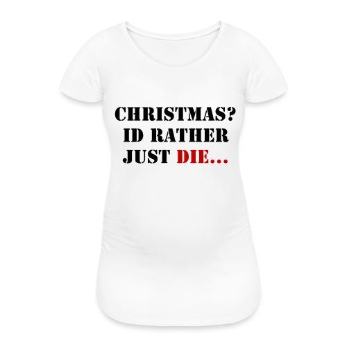 Christmas joy - Women's Pregnancy T-Shirt