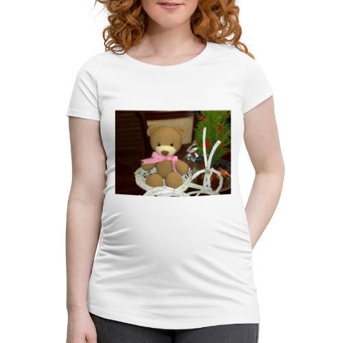 Oso amigurumi de crochet hecho a mano,suave - Camiseta premamá