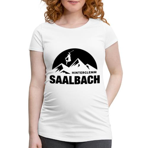 Summit Saalbach - Vrouwen zwangerschap-T-shirt