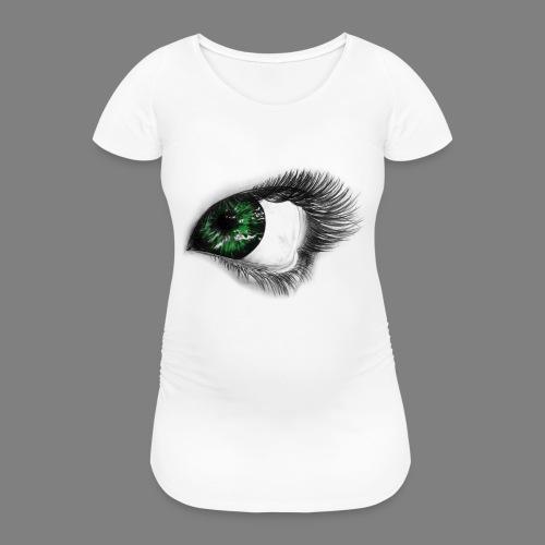 Auge 1 - Frauen Schwangerschafts-T-Shirt