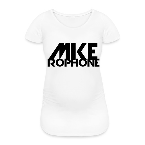Mike Rophone Silber - Frauen Schwangerschafts-T-Shirt