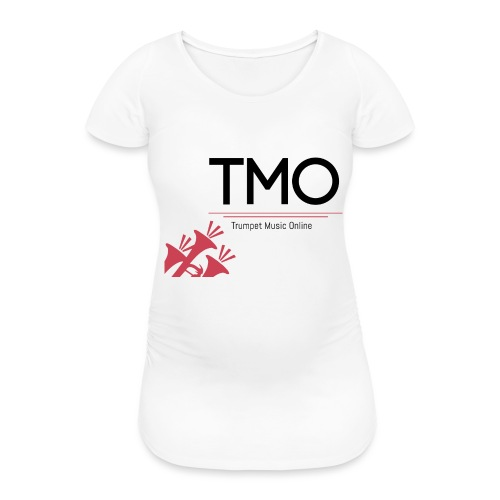 TMO Logo - Women's Pregnancy T-Shirt