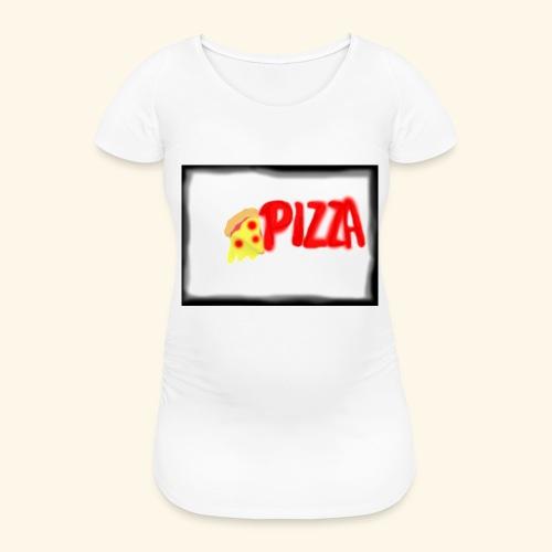 Pizza - Frauen Schwangerschafts-T-Shirt